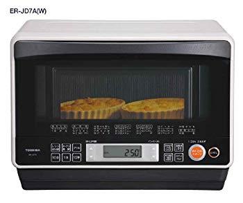 【中古】TOSHIBA 石窯ドーム オーブンレンジ26L グレイッシュホワイト ER-JD7A(W) ER-JD7A(W)