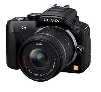 【中古】パナソニック ミラーレス一眼カメラ LUMIX G3 レンズキット エスプリブラック DMC-G3K-K
