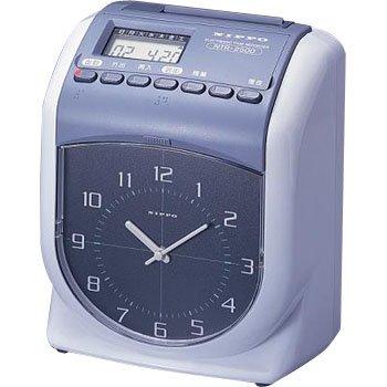 【中古】タイムレコーダー6欄2色印字 NTR-2500
