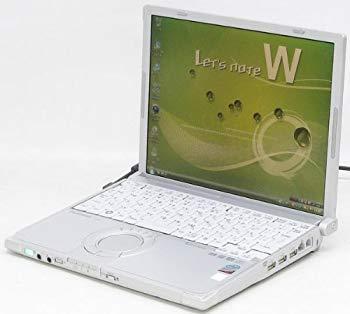 【中古】パナソニック(Panasonic) パナソニック 中古 ノートパソコン/レッツノート【CF-W8】 Panasonic CF-W8FWDAAS