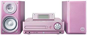 【中古】SONY HDD/CD対応 ハードディスクコンポ HDD80GB CMT-E300HD/P ピンク
