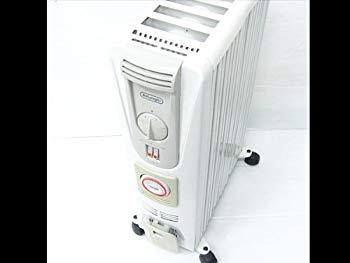 【中古】Delonghi デロンギ 081321TEC 8枚フィン オイルヒーター 1300W 3~9畳
