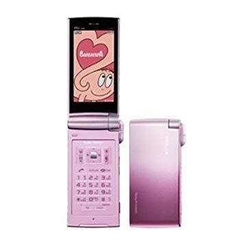 【中古】Sony Ericsson BRAVIA Phone S005 シュガーピンク