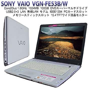 【中古】ソニー(VAIO) VAIO typeF FE53B ホワイト Office2007 VGN-FE53B/W
