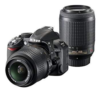 【中古】Nikon デジタル一眼レフカメラ D3100 200mmダブルズームキットD3100WZ200