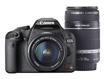 【中古】Canon デジタル一眼レフカメラ Kiss X3 ダブルズームキット KISSX3-WKIT