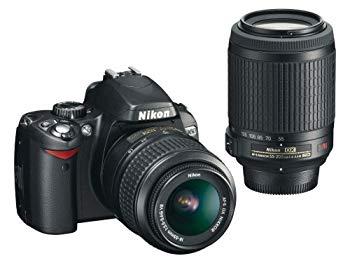 【中古】Nikon デジタル一眼レフカメラ D60 ダブルズームキット D60WZ