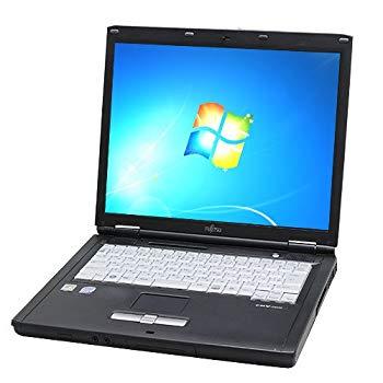 【中古】中古ノートパソコン 富士通 LIFEBOOK FMV-C8250 Core2Duo 15型液晶 DVDコンボ Windows7 KingsoftOffice2013