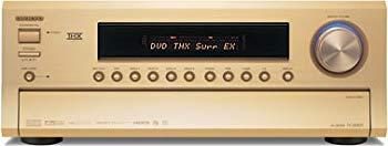 【中古】ONKYO AVセンター 170W×7ch HDMI ゴールド TX-SA803(N)