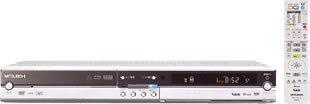 【中古】MITSUBISHI 楽レコ BSアナログチューナー内蔵 250GB DVR-HE50W