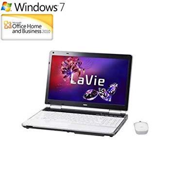 【中古】NEC PC-LL750F26W [LaVie L LL750/F2シリーズ 15.6型ワイド液晶/HDD750GB/ブルーレイディスクドライブ クリスタルホワイト]