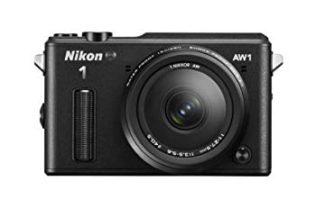 【中古】Nikon ミラーレス一眼カメラ Nikon1 AW1 防水ズームレンズキット ブラック N1AW1LKBK