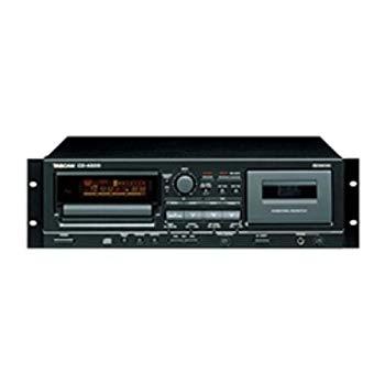 【中古】TASCAM CD/カセットコンビネーションプレーヤー ワンタッチダビング機能搭載 CD-A500