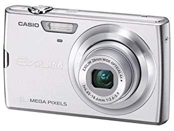 【中古】CASIO デジタルカメラ EXLIM ZOOM EX-Z250 シルバー EX-Z250SR