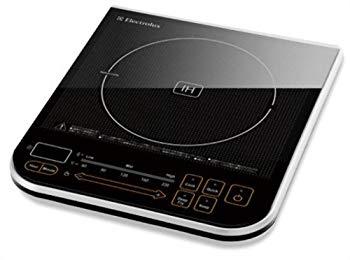 【中古】Electrolux EASYIH IHクッカー 【タッチセンサー式 フルフェイス ガラス操作パネル】 ブラック EIH600