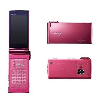 【中古】Sony Ericsson BRAVIA Phone S004 スターダストピンク