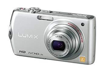 【中古】パナソニック デジタルカメラ LUMIX FX70 プレシャスシルバー DMC-FX70-S