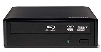 【中古】BUFFALO BDXL・DTCP-IPムーブ対応 USB3.0用 外付けブルーレイドライブ BRXL-14U3