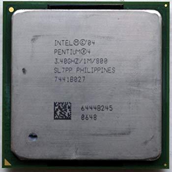 【中古】インテル Pentium4 3.40EGHz/1M/800 Socket478 Prescott SL7PP