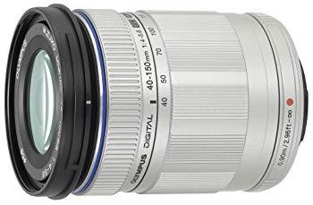 【中古】OLYMPUS PEN レンズ M.ZUIKO DIGITAL ED 40-150mm F4.0-5.6 SLV