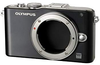 【中古】OLYMPUS ミラーレス一眼 PEN Lite E-PL3 ボディ ブラック E-PL3 BODY BLK