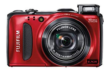【中古】FUJIFILM デジタルカメラ FinePix F600EXR レッド 1600万画素 広角24mm光学15倍 F FX-F600EXR R