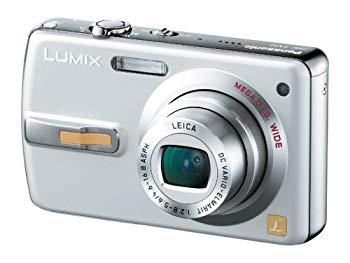 【中古】パナソニック デジタルカメラ LUMIX FX50 シルキーシルバー DMC-FX50-S