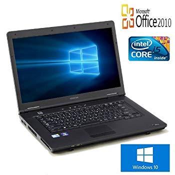 【中古】【Microsoft Office2010搭載】【Win10搭載】【新品SSD 240GB搭載】TOSHIBA Dynabook Satellite L45 /新世代 Core i5 2.40GHz/メモリ8GB/DVDスー