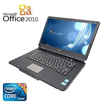 【中古】【Microsoft Office 2010搭載】【Win 7搭載】NEC VY22G/X-A/新世代Core i3 2.26GHz/メモリ2GB/HDD160GB/大画面15.6インチ/無線LAN搭載/中古ノー
