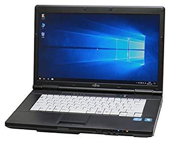 【中古】【Microsoft Office2010搭載】【Win 10 搭載】【新品マウス付き】中古 FUJITSU ノートパソコン Aシリーズ 第二世代Core i5搭載 メモリー4GB搭載