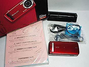【中古】携帯 au W63CA (R:バー二ッシュレッド)