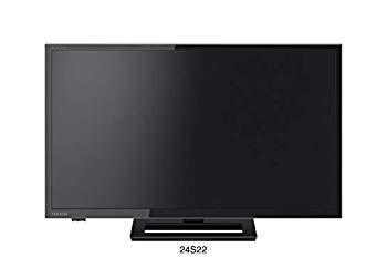 【中古】東芝 24V型地上・BS・110度CSデジタル ハイビジョンLED液晶テレビ(別売USB HDD録画対応)REGZA 24S22