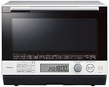 【中古】東芝 30L 過熱水蒸気オーブンレンジ 石窯ドーム ER-SD100-W グランホワイト 1段