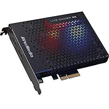 【中古】AVerMedia Live Gamer 4K GC573 [4Kパススルー対応 PCIe接続 ゲームキャプチャーボード] DV490