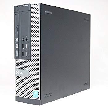 【中古】デル,Optiplex 7020,7020SF I5-4590,Core i5-4590/3.3GHz,メモリ4GB,500GB,Windows7 Professional 32bit