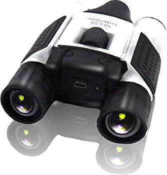 【中古】デジカメ機能搭載 双眼鏡 決定的瞬間を撮影録画 バードウォッチング 野外活動 スポーツ観戦に