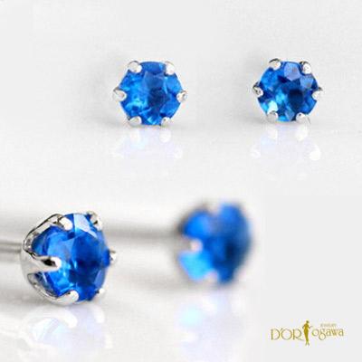 クーポン発行中大人のカラーストーン希少石アウイナイト・プラチナトータル0.10ctスタッドピアスアウイナイトはラピスラズリの構成鉱物の1つでコレクター憧れのレアストーンです別名アウィナイト・アウイン・アウィン・藍宝石
