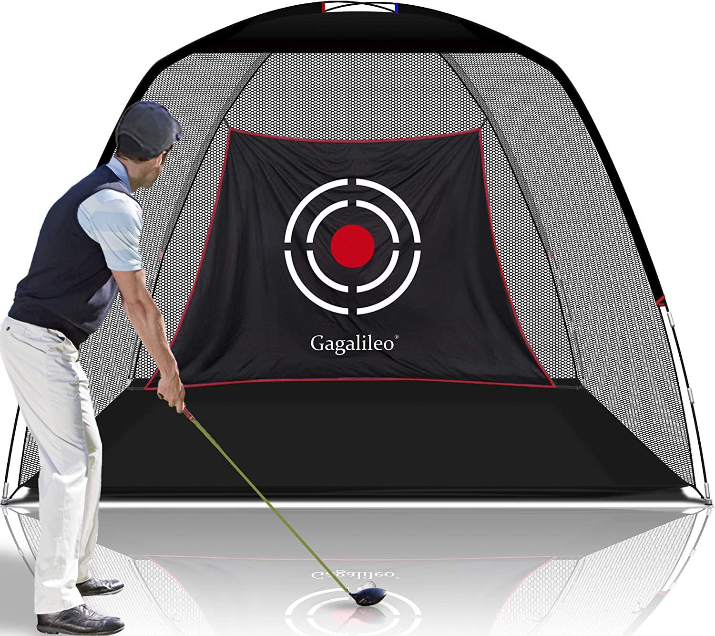 ゴルフネット 日本正規代理店品 練習用 ゴルフトレーニングネット ヒッチングネット お得クーポン発行中 折りたたみ式 室内室外 3mx2mx1.8m 設置簡単 収納バッグ付き