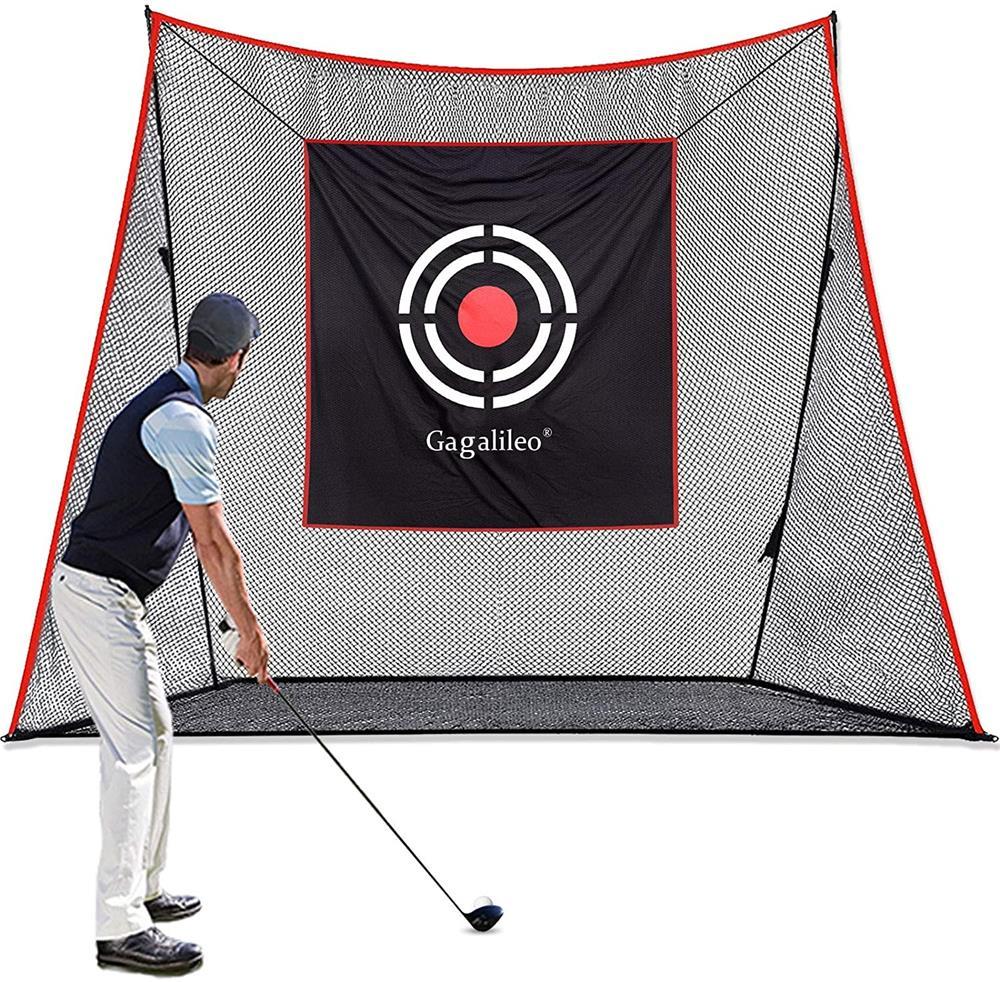 ゴルフネット 有名な ゴルフ練習ネット 大型 ゴルフネット練習用 3.6X3m 室外 キャリーバッグ付き 実物