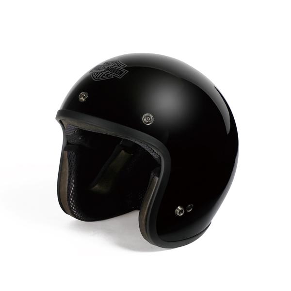 【純正品】アライヘルメット・Arai Helmet Meets H-D Spirit・3/4 Solid Vivid Black・ジェットヘルメット ソリッド ビビッド ブラック・つや有り:98323-14VA