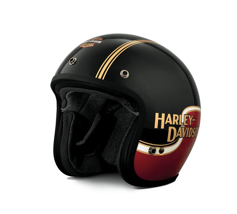 【純正品】アライヘルメット・Arai Helmet Meets H-D Spirit・The Shovel Classic MOD3/4 Helmet//RED&BLACK・ザ ショベル クラシック ジェットヘルメット:98277-19JX