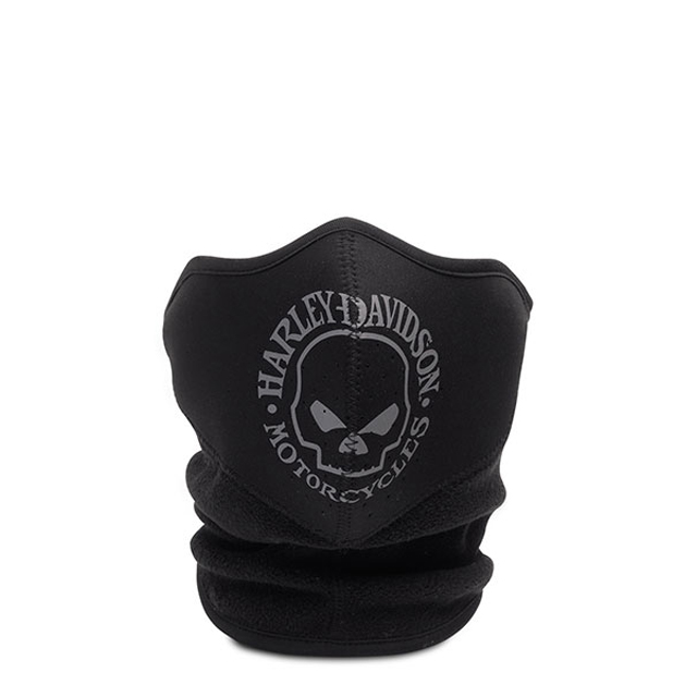 HARLEY-DAVIDSON ハーレーダビッドソン 純正品 メンズ フェイスマスク スカルロゴ 売れ筋 Skull 超激安特価 Fleece Neoprene 鼻と口には通気口があり苦しくありません ネオプレンフェイスマスク 大幅にプライスダウン マスク :99406-16VM スカルフリース Face Mask