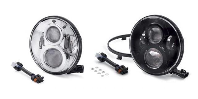 【純正品】HARLEY-DAVIDSON◆ハーレーダビッドソン◆7インチ・デーメーカー・プロジェクターLEDヘッドライト[ブラック][クローム]デーメーカー・LED ライトは標準装備の白熱球より明るく、優れた配光パターンを提供します:67700267 [ 532P19Mar16 ]