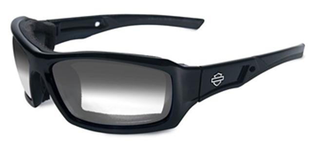 【Harley Davidson by WILEY X】Light Adjusting Smoke Performance Glasses ★取り外し可能なシールブロック★風ほこり破片寒さガード!◆調光レンズ◆[付属]クラムシェルケース、クリーニングクロス、ストラップ HDECH05(アクセサリー・サングラス・メガネ)