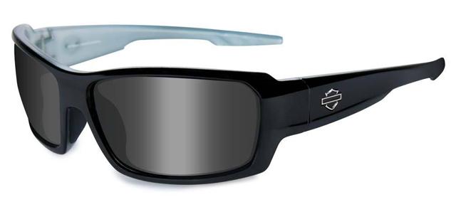 【Harley Davidson by WILEY X】Rebel-Alt Fit Gloss Black Frames Sunglasses★日本人の骨格にフィットするデザインモデル★日差し、風、ほこり、破片、寒さガード![付属]クラムシェルケース、クリーニングクロス、ストラップ(アクセサリー・サングラス・メガネ):hfreb01