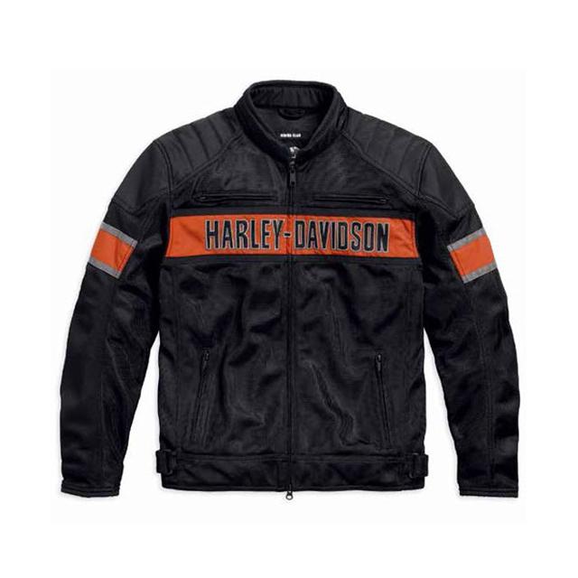 【純正品】HARLEY-DAVIDSON◆ハーレーダビッドソン(アジアサイズ)Trenton Mesh Riding Jacket・トリントン メッシュライディングジャケット・メッシュジャケット】※日本サイズと同じで、袖・丈が長すぎることはありません。:98111-16VS