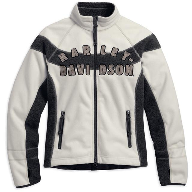 【純正品】HARLEY-DAVIDSON◆ハーレーダビッドソン・Women's Rally Line Windproof Fleece Jacket・レディース ラリーライン ウィンドプルーフ フリースジャケット:98572-16VW [ 532P19Mar16 ]