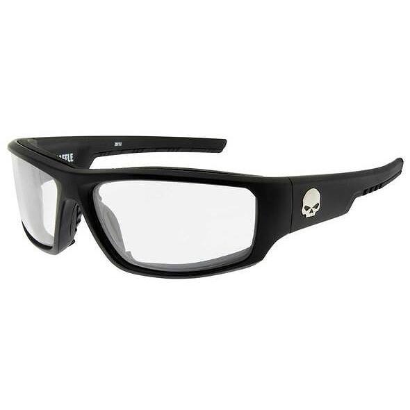 サングラス Harley Davidson by ワイリーX HD BAFFLE 目の保護に HVP規格 防曇 防塵 防風 [正規販売店] インナーパッド固定式 レンズ交換不可 ハーレー WILEY クリアレンズ Black 巾着袋:HABFL03 紫外線カット99.9% Lenses Matte 固定式インナーシールド Baffle 人気の製品 X Frames Clear Sunglasses アクセサリー メガネ 付属