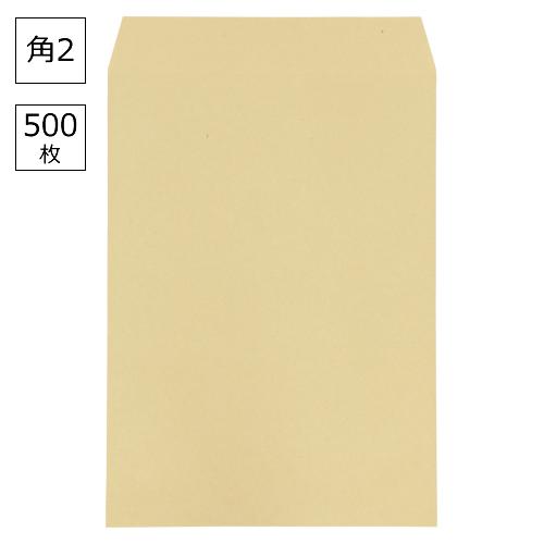 ¥5,000以上送料無料  寿堂 クラフト封筒(サイド貼り) 500枚入業務用 規格:角2