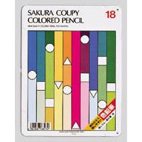 ¥5 定番キャンバス 000以上送料無料 初売り 全商品ポイント2~10倍26日1時59分まで クーピー色鉛筆18色 サクラクレパス スタンダード